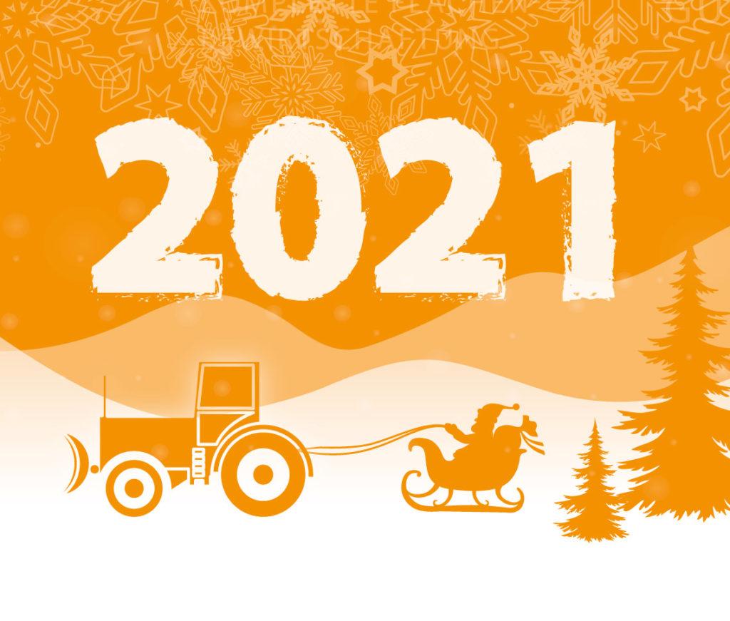 2021-01: Wir wünschen Ihnen ein frohes und gesundes neues Jahr!