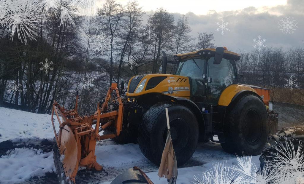 2021-01: Winterdienst mit reichlich Schnee!
